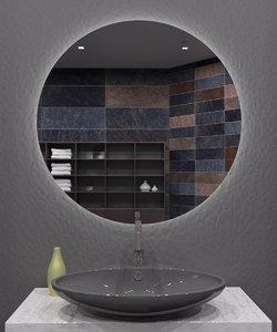 illuminated mirror 3D model