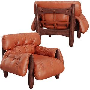 3D mole armchair linbrasil model
