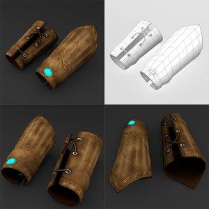 3D model braces