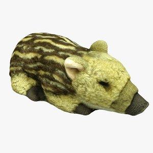 plush animal 3D