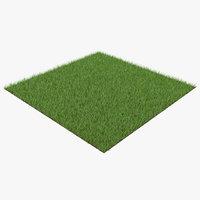 grass patch 3D model