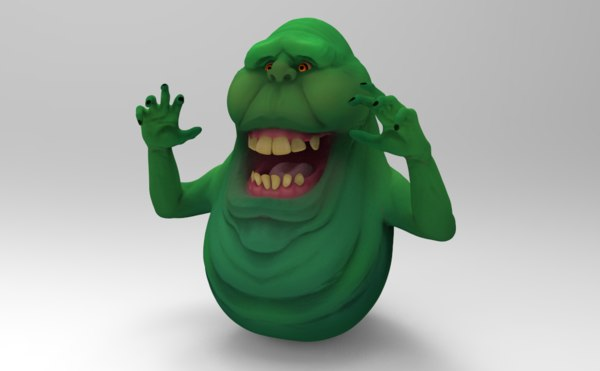 3D ghostbusters ghost