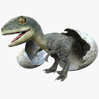 Raptor Baby Rigged