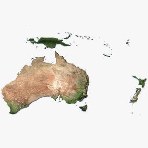 australia oceania model