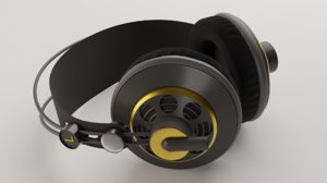 3D studio headphones