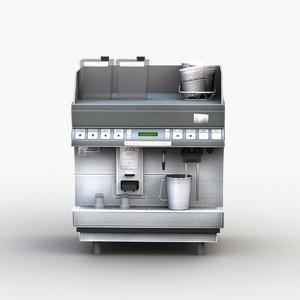 coffee maker 001 3D model