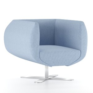 botero armchair 3D model