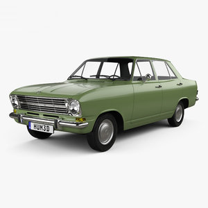 3D model opel kadett e