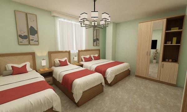 hotel room ft model