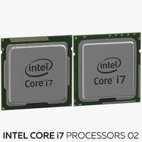 intel core i7 processors 3D model