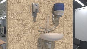 sanitary vr ar 3D model