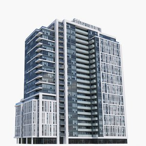 3D ivory adelaide buildings model