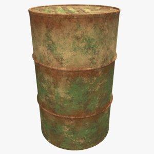 barrel kraftstoff 3D model