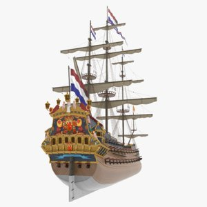 zeven provincien 3D model