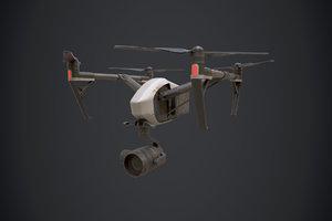 3D drone dji inspired