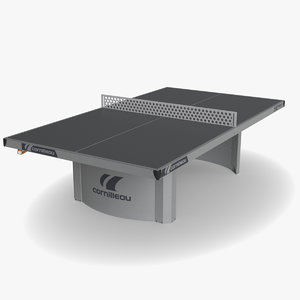 cornilleau ping pong table tennis 3D model