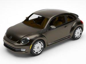 3D model bettle