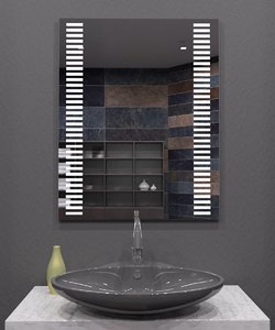 illuminated mirror model