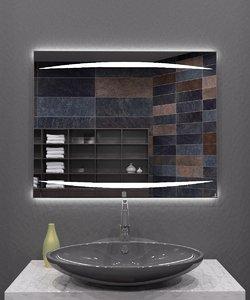 illuminated mirror 3D