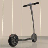 electric scooter 045 diamond 3D model
