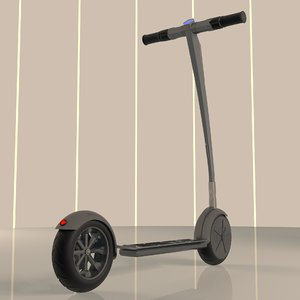 electric scooter 045 diamond 3D model
