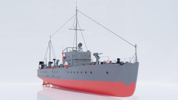 small hunter boats 3D