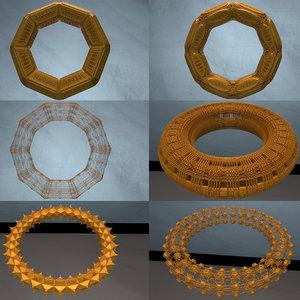3D model pack complex shapes