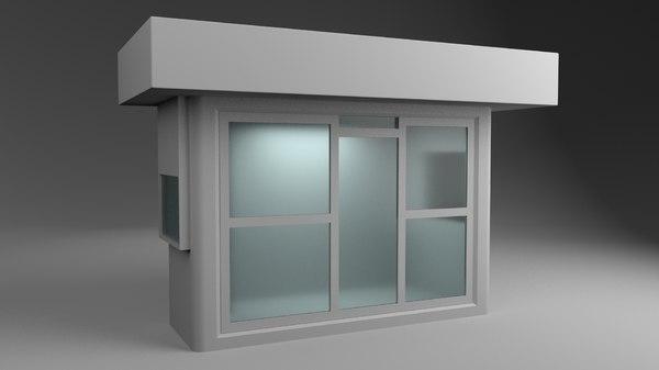 3D newsstand