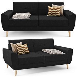 3D sofa malmo model