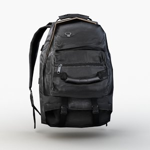 backpack opened model