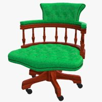 chair seat furniture 3D model