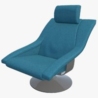 chair seat furniture 3D