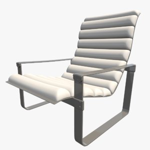3D model chair seat furniture