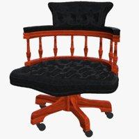 3D model chair sofa seat