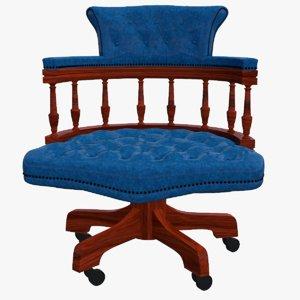 3D chair sofa seat model