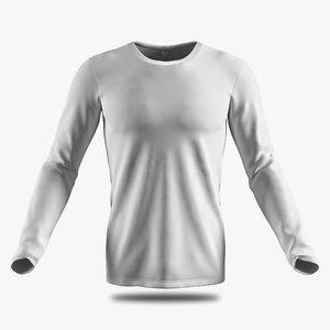 3D long sleeve shirt w