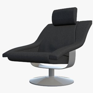 3D chair seat furniture