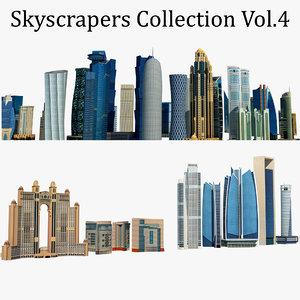 skyscrapers building model