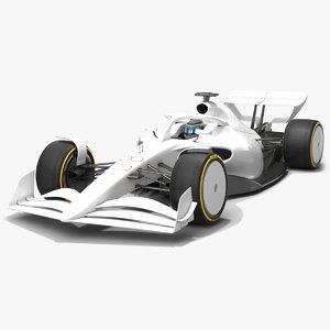 formula 1 season 2021 3D model
