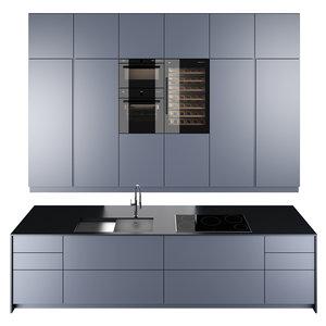 modern kitchen model