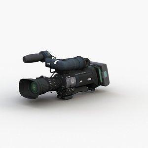 3D professional camcorder model