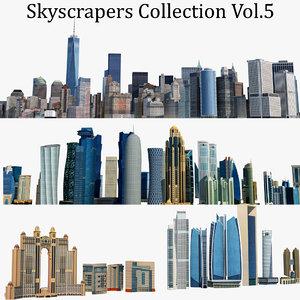 skyscrapers building 3D model