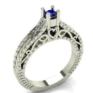 ring heart 3D