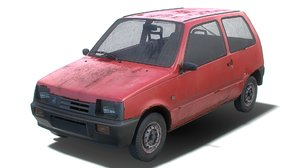 old generic hatchback model