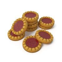 3D sponge cakes jam