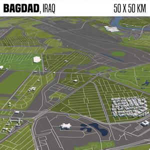 3D bagdad iraq