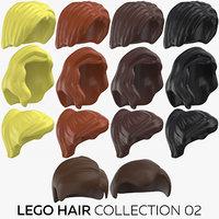 lego hair 02 model