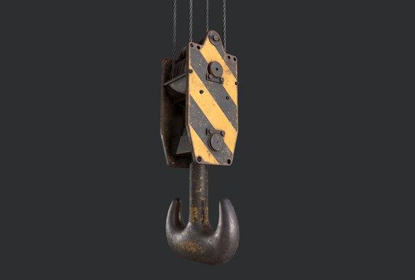 3D lifting crane