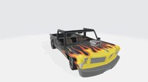 kodiak rider car 3D model