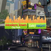3D modern city pack new york model